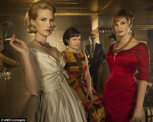 I like the style on the show Mad Men.