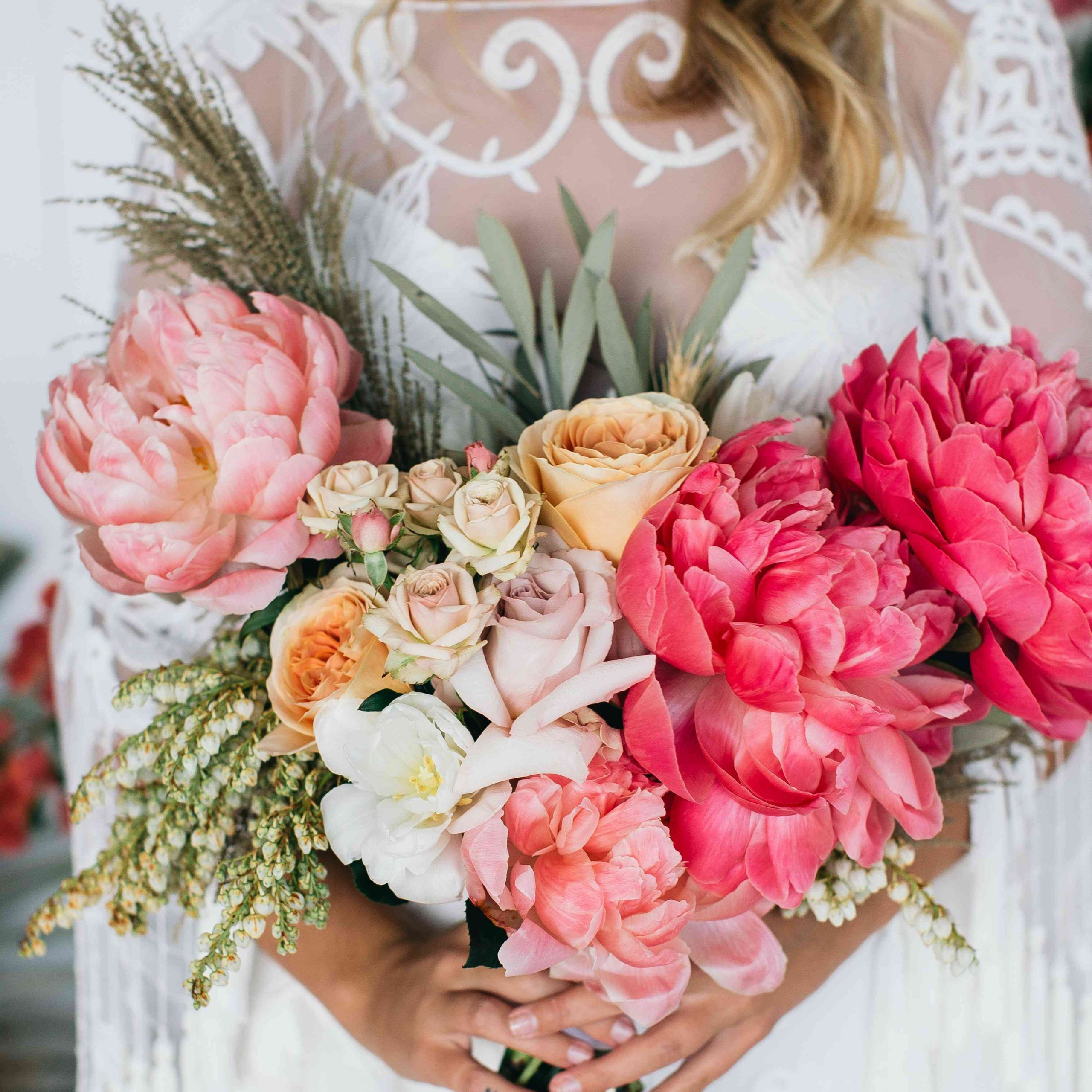 40 perfect peony wedding bouquets within wedding bouquets