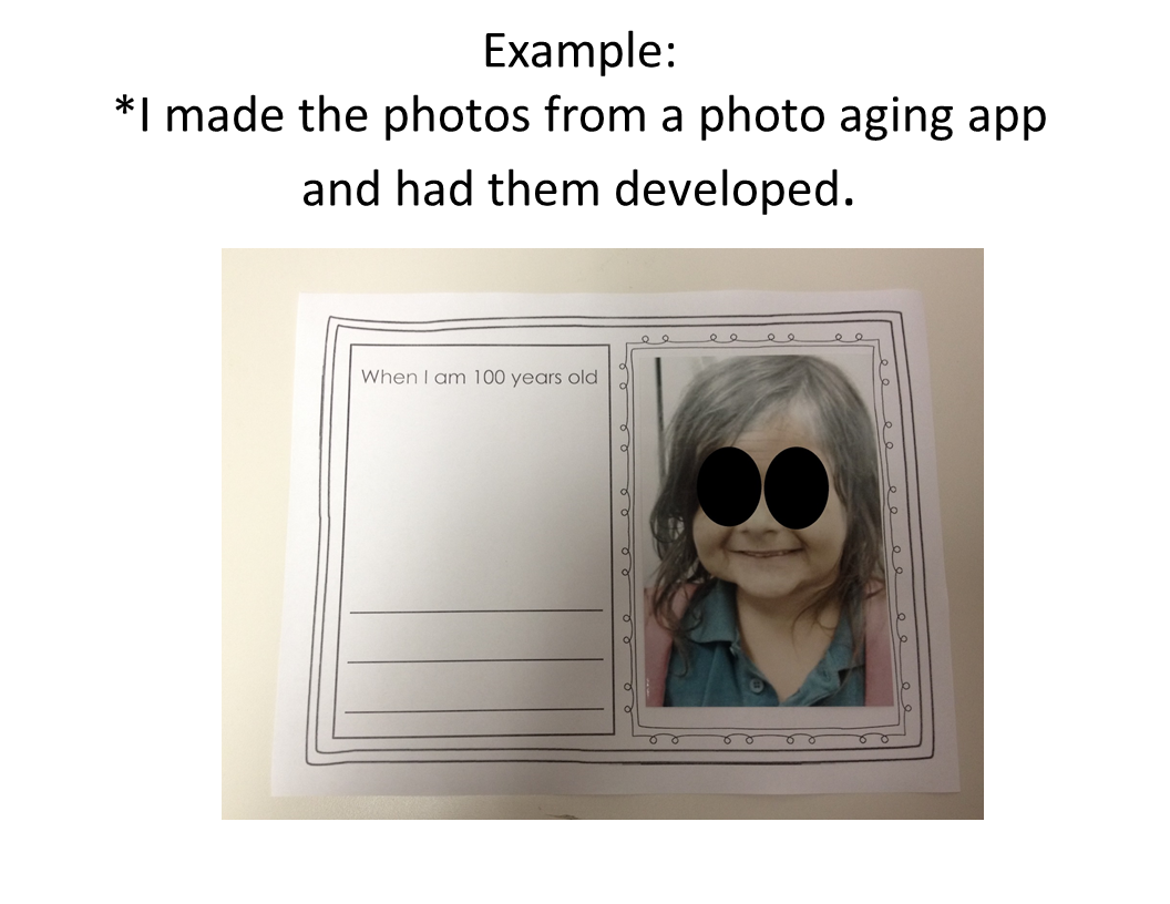 When I Am 100 Years Old Worksheet 100th Day Of School