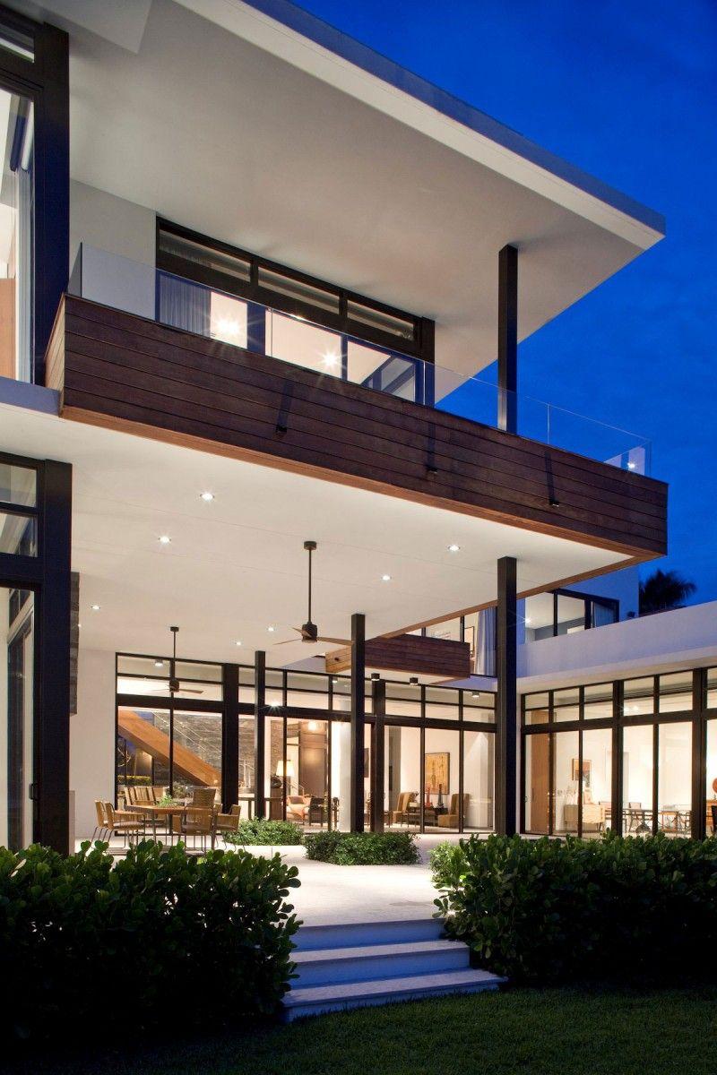 Franco Residence by KZ Architecture | Moderne architektur, Moderne ...