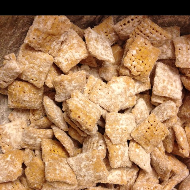 Peanut Butter Honey Nut Puppy Chow Just Made This Up Because I Was Craving Something Salty And Sweet I Just Mel Puppy Chow Recipes Still Tasty Honey Nut Chex