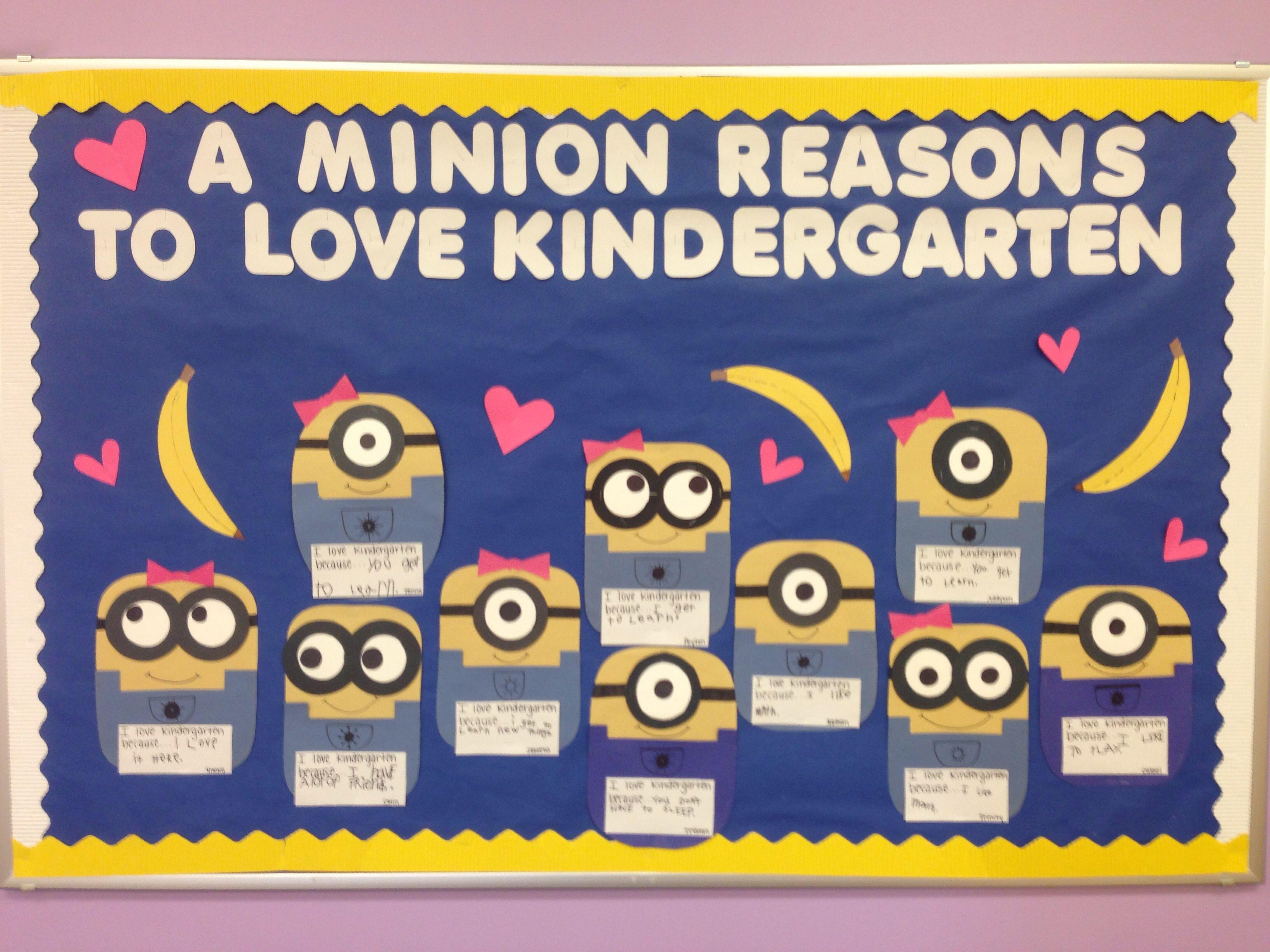 Kindergarten Minion Board