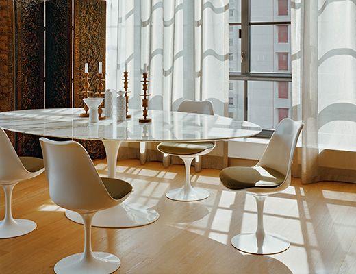 Tulip Chair Saarinen Dining Table Mobilier De Salon Meuble Moderne Table Knoll Ovale