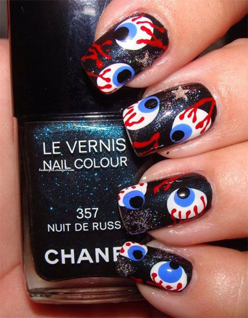 Best yet scary halloween nail art designs ideas pictures 2013 2014 best yet scary halloween nail art designs ideas pictures 2013 2014 4 best yet scary halloween prinsesfo Choice Image
