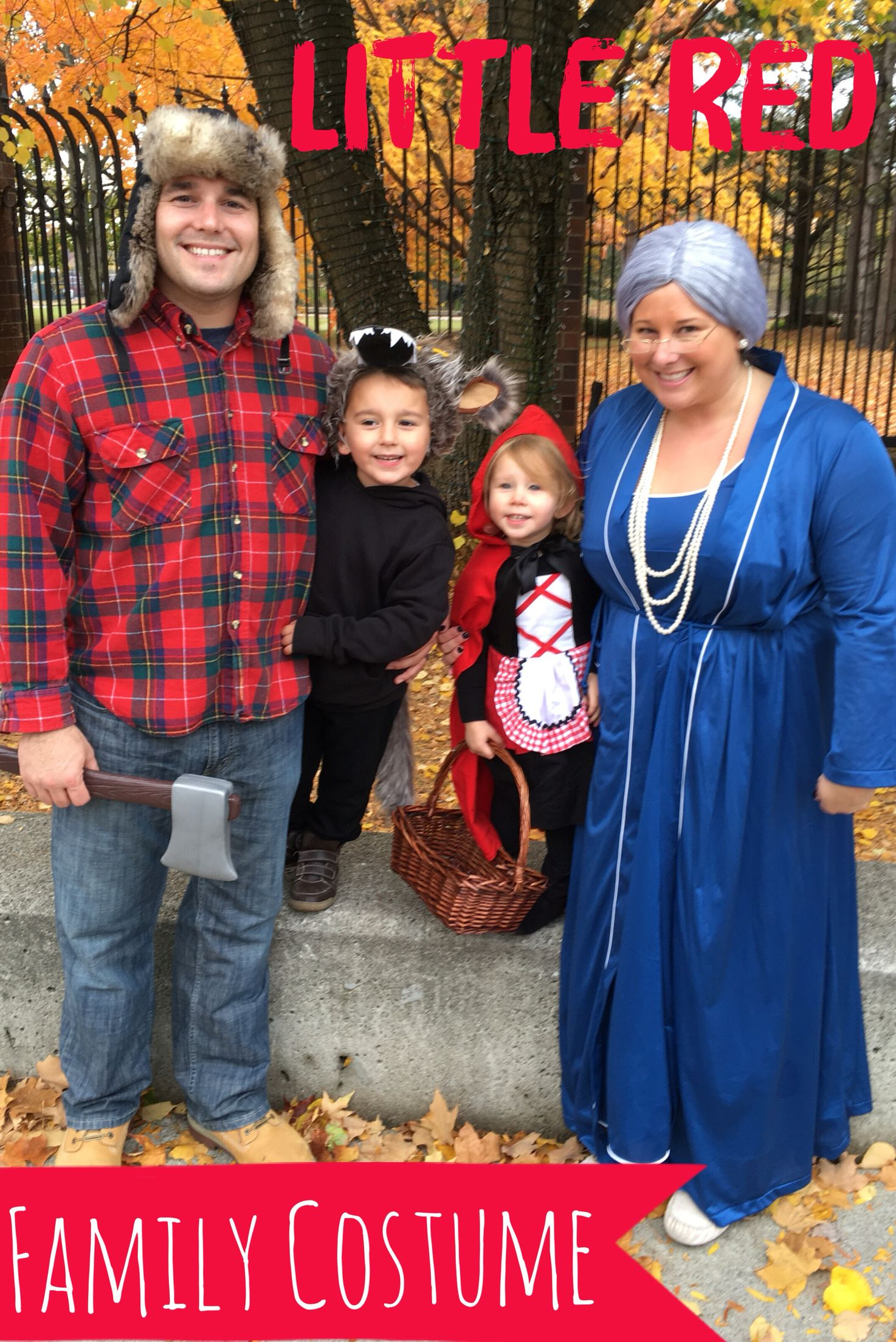 Family Costume Idea Little Red Riding Hood Family Costumes