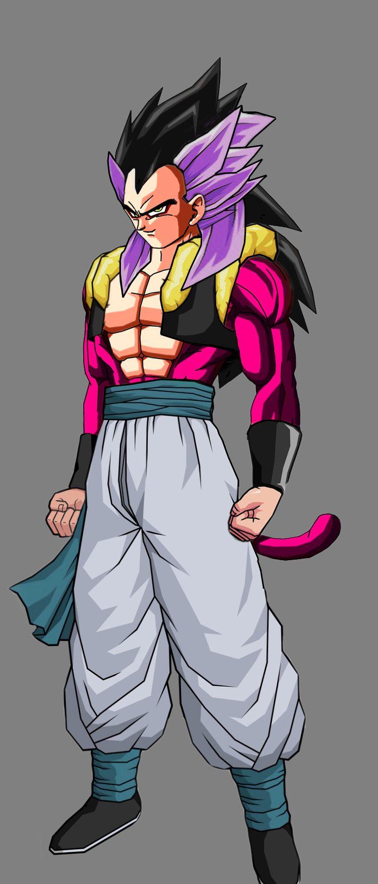 Teen Gotenks Ssj4 Dragon Ball Z Dragon Ball Dragon Ball Z Dragon