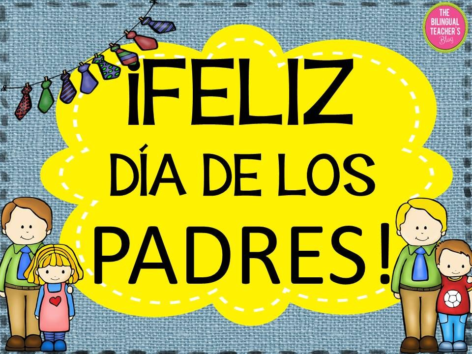 Fathers day card in spanish dad birthday gift fathers