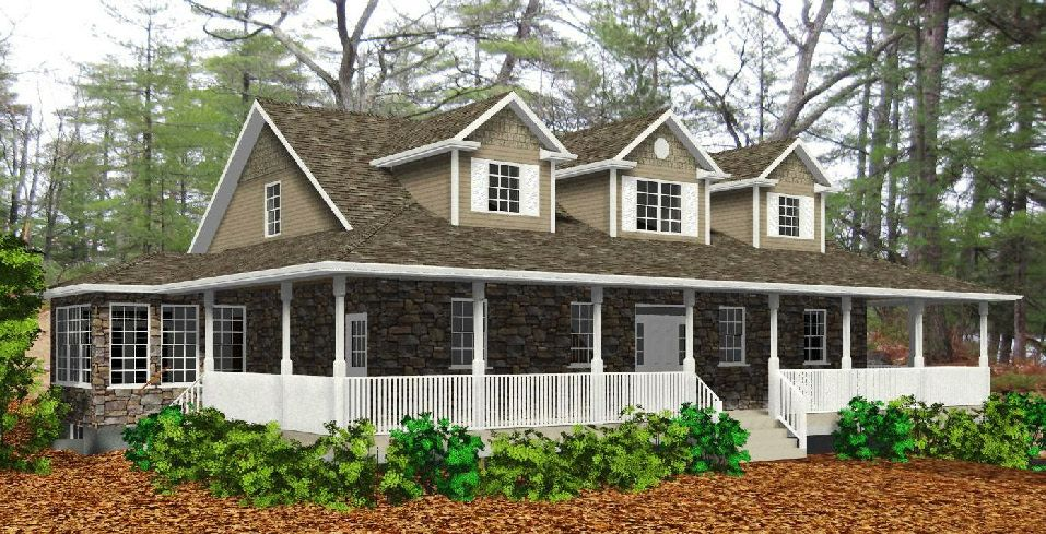 Cape cod homes cape cod house plans at for Cape cod porch