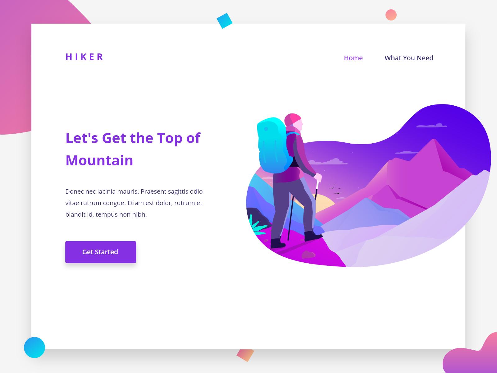 Simple Header Design Website Header Design Header Design Minimal Web Design