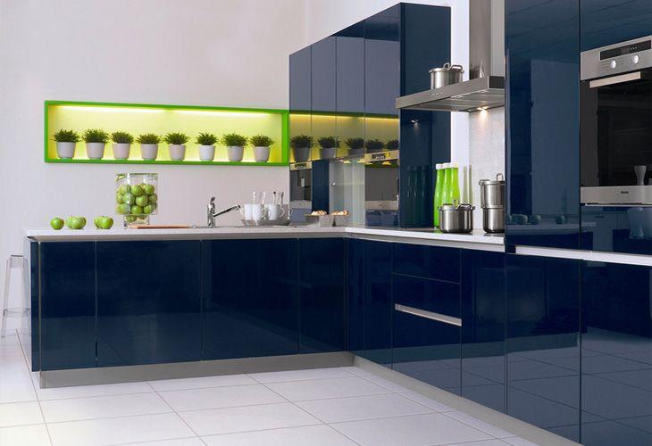Blaue Kuche Von Kh System Mobel Blue Kitchen Von Kh System Mobel