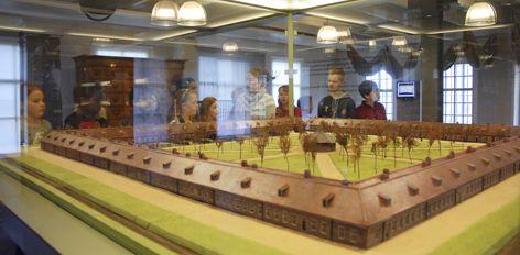 Expositie gevangenismuseum Veenhuizen