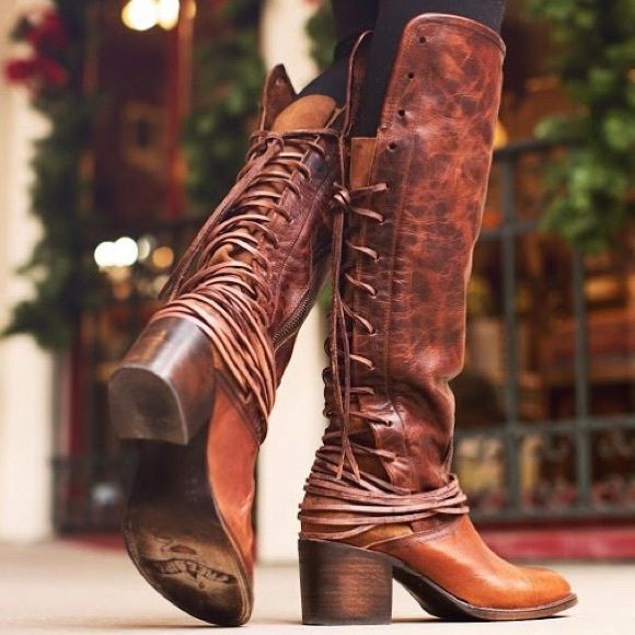 4377209565d DISO Freebird Coal Boots in Cognac 7.5 Desperately in search of ...