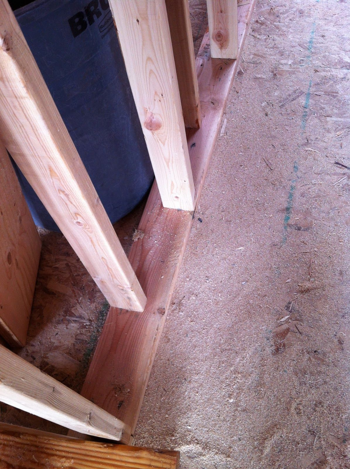 Framing Tip Staggering Studs For Soundproofing Sound Proofing Soundproof Room Solid Wood Doors