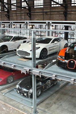 TRIBECA   MAGAZINE: garage like this! #astonmartin