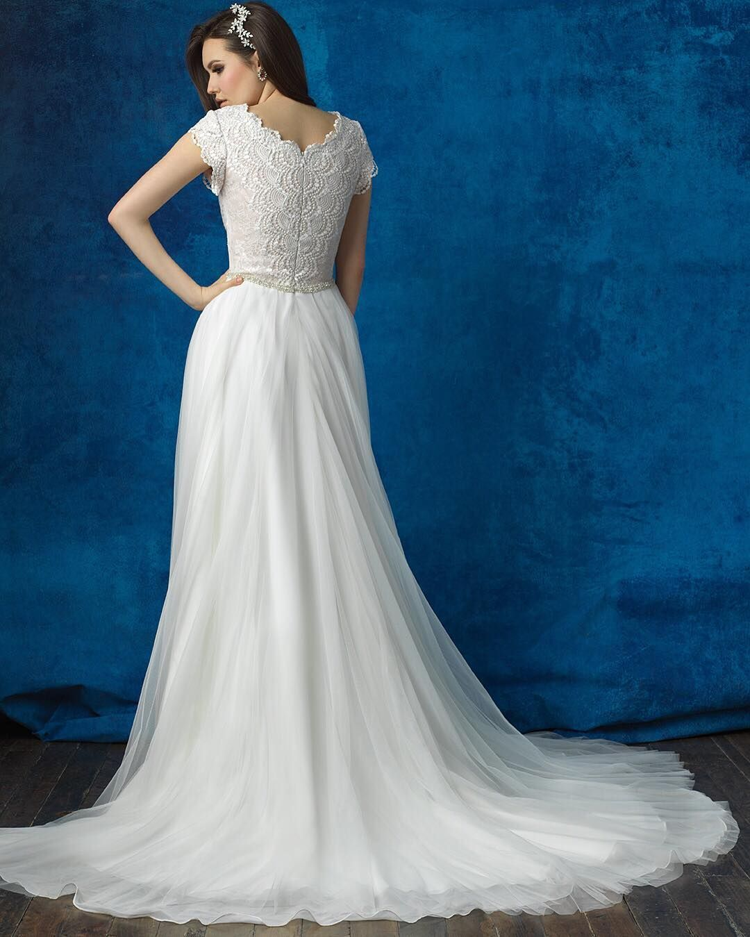 The back of #M564 is just as gorgeous as the front! #StyleOfTheWeek