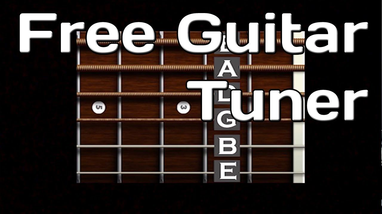 Free Online Guitar Tuner Easy to Use Guitar tuners
