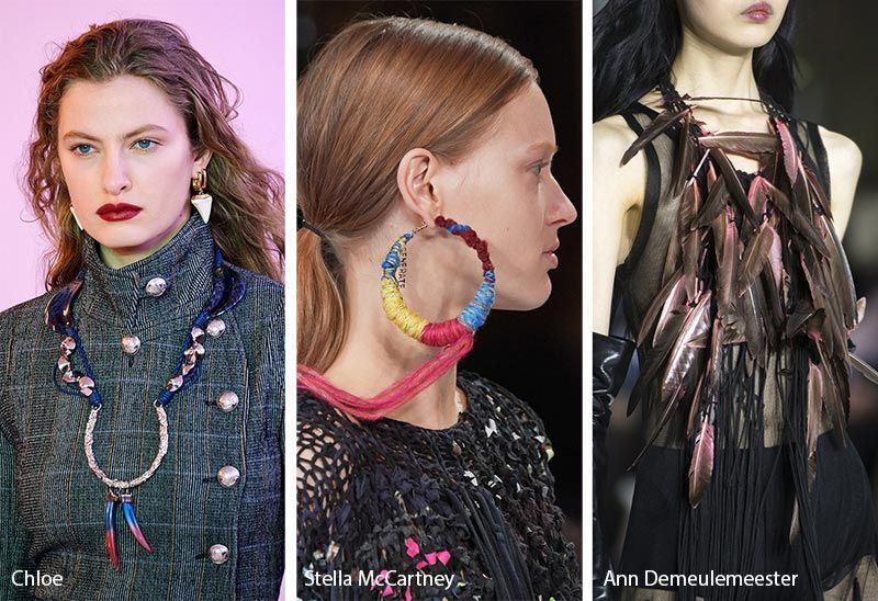 Necklace Trends 2020.Fall Winter 2019 2020 Accessory Trends Jewelry Trends