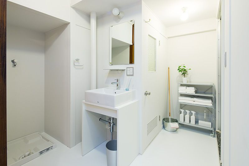 Plan39 効率的な家事動線 洗面室を広いユーティリティスペースに