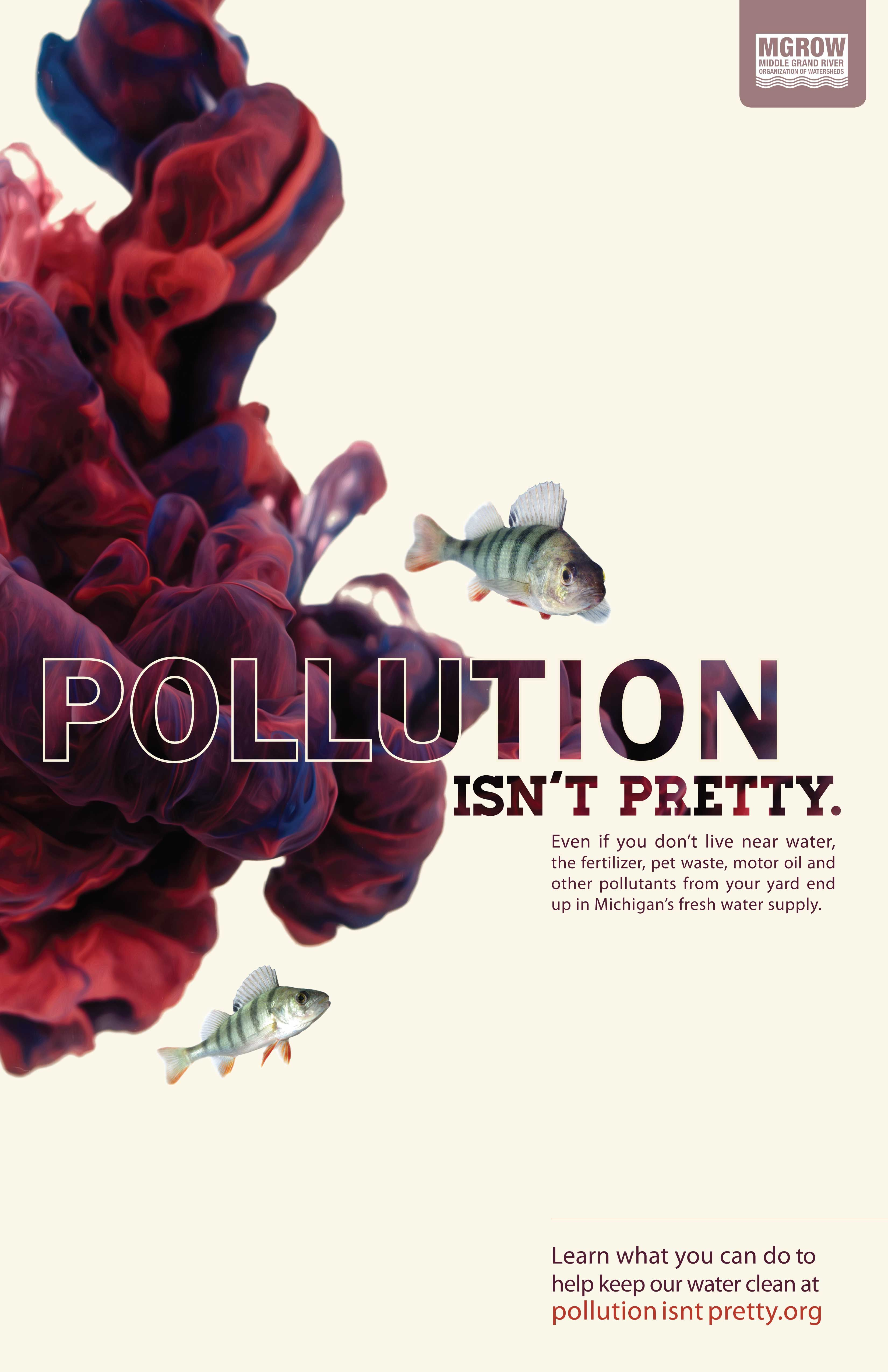 Poster design on environment - Environmental Water Protection Poster Pollution Isn T Pretty Campaign Designed By Redhead Design