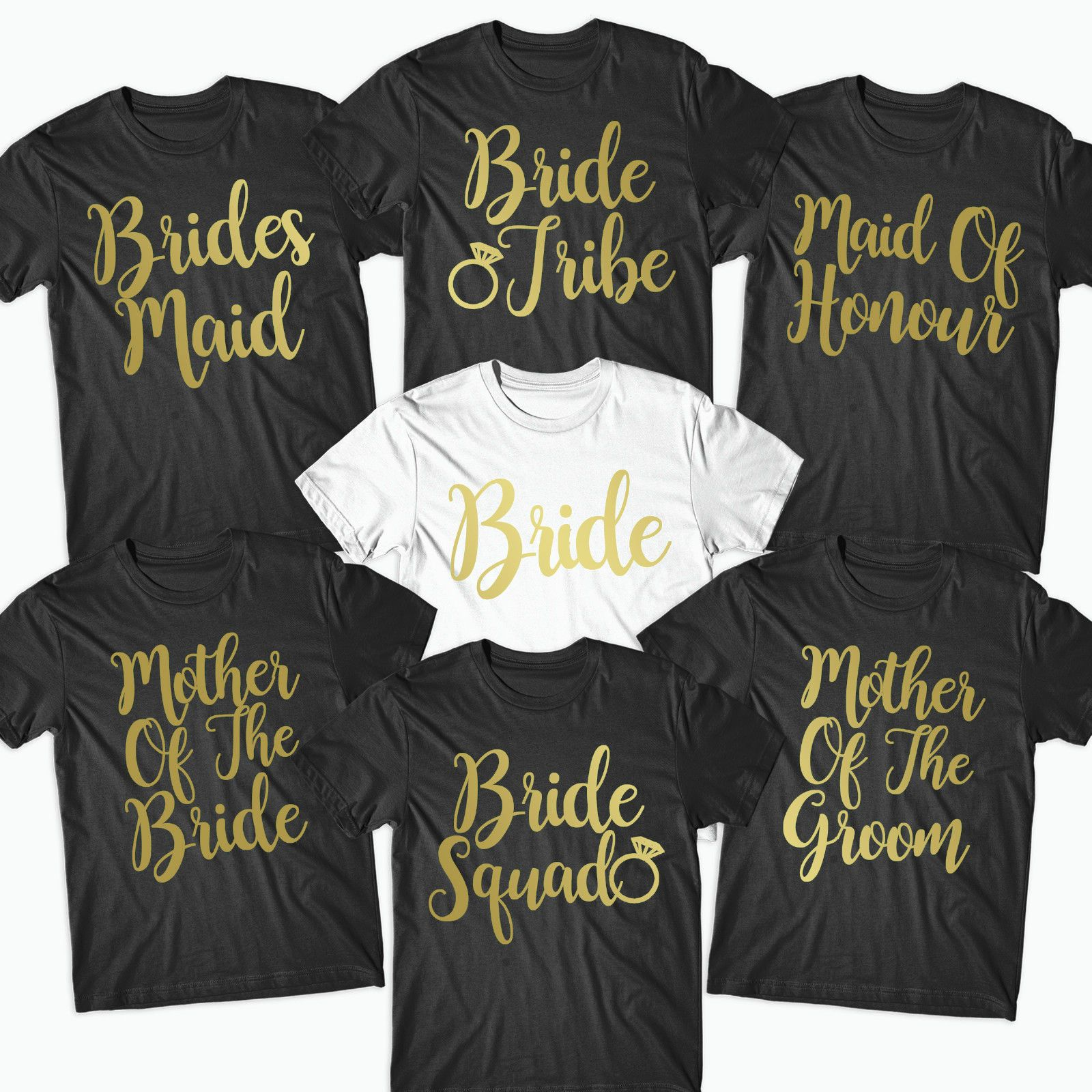 personalised bridesmaid bride t shirt for hen party hen party t shirt