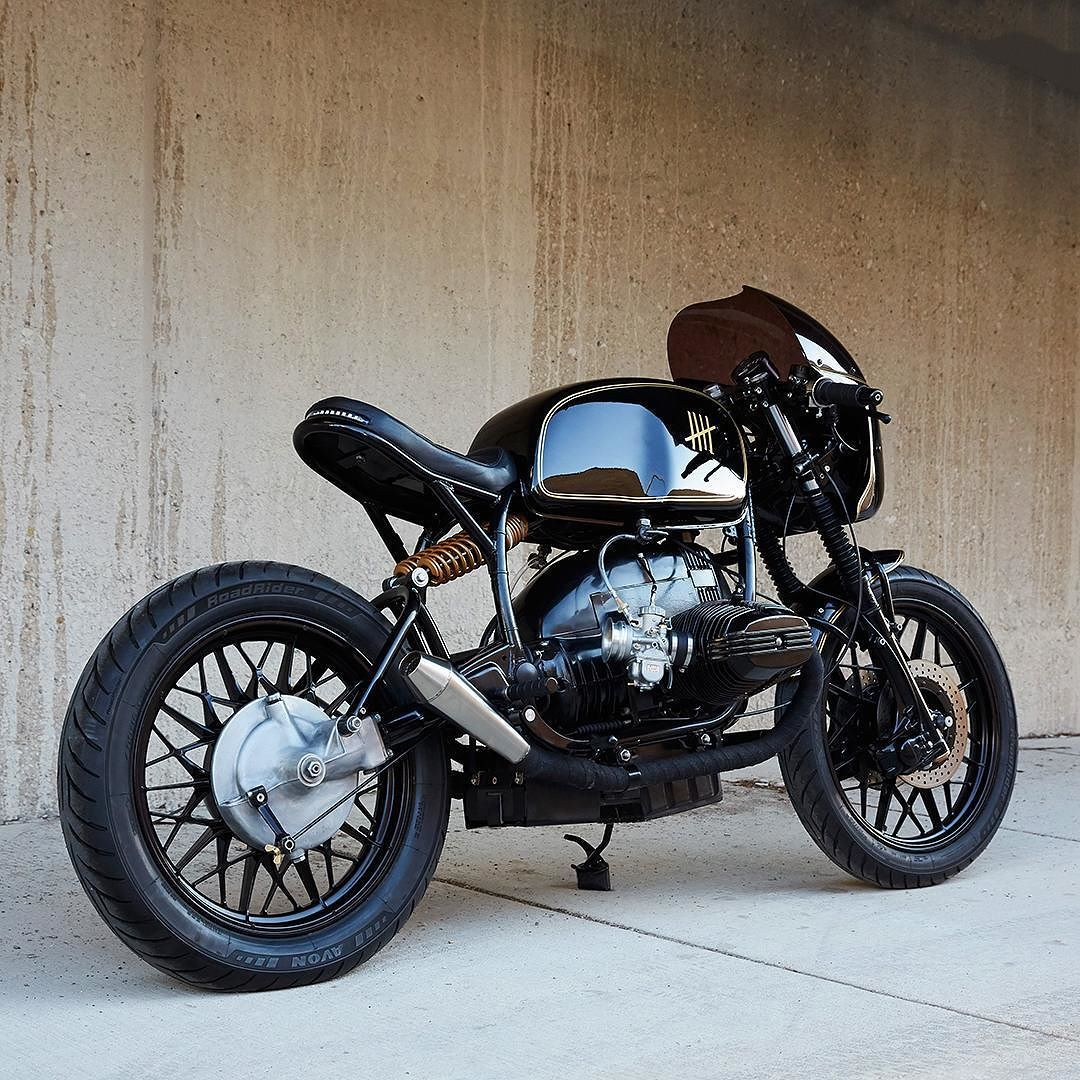 BMW R65 Cafe Racer, oldschoolbikes: bike-exif: There's a ...
