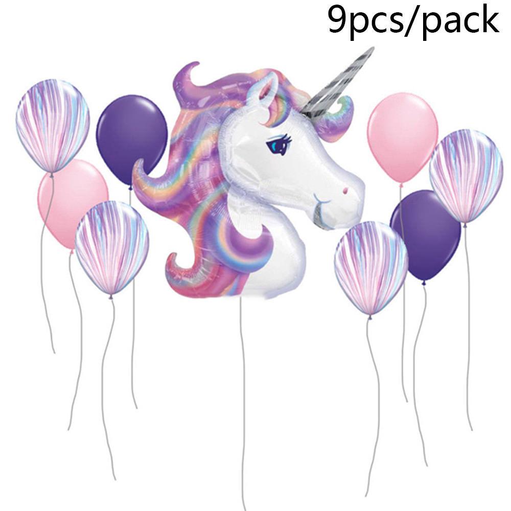 $4.26 AUD - Birthday Party Decorations Kids Foil Balloon Unicorn ...