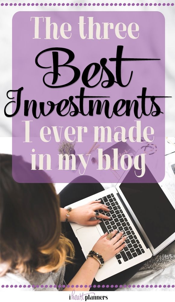 The three best investments I've ever made in my blog include: blog coaching, ConvertKit, and hiring help. Click for all the details! - iheartplanners.com