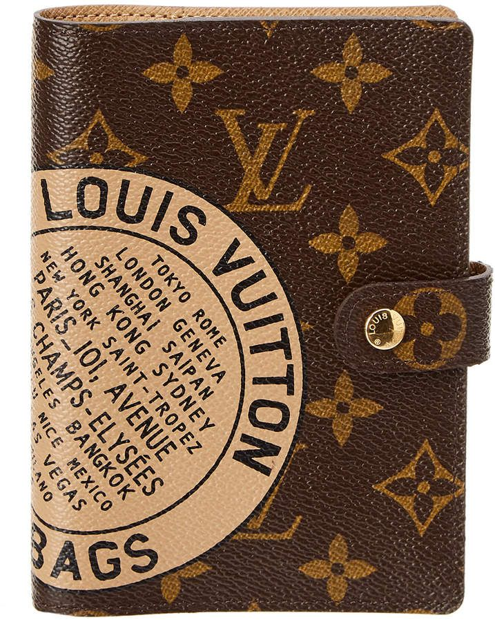 39cf88d35fa Louis Vuitton Limited Edition Trunks & Bags Monogram Canvas Agenda ...