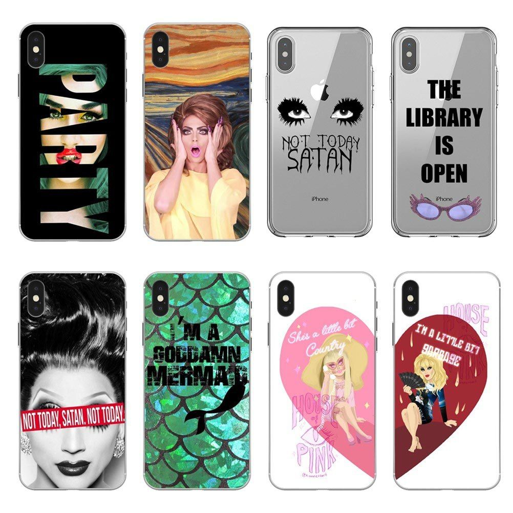 low priced d5492 45013 Find More Half-wrappe… | RuPaul Drag queen Case silicone Soft Phone ...