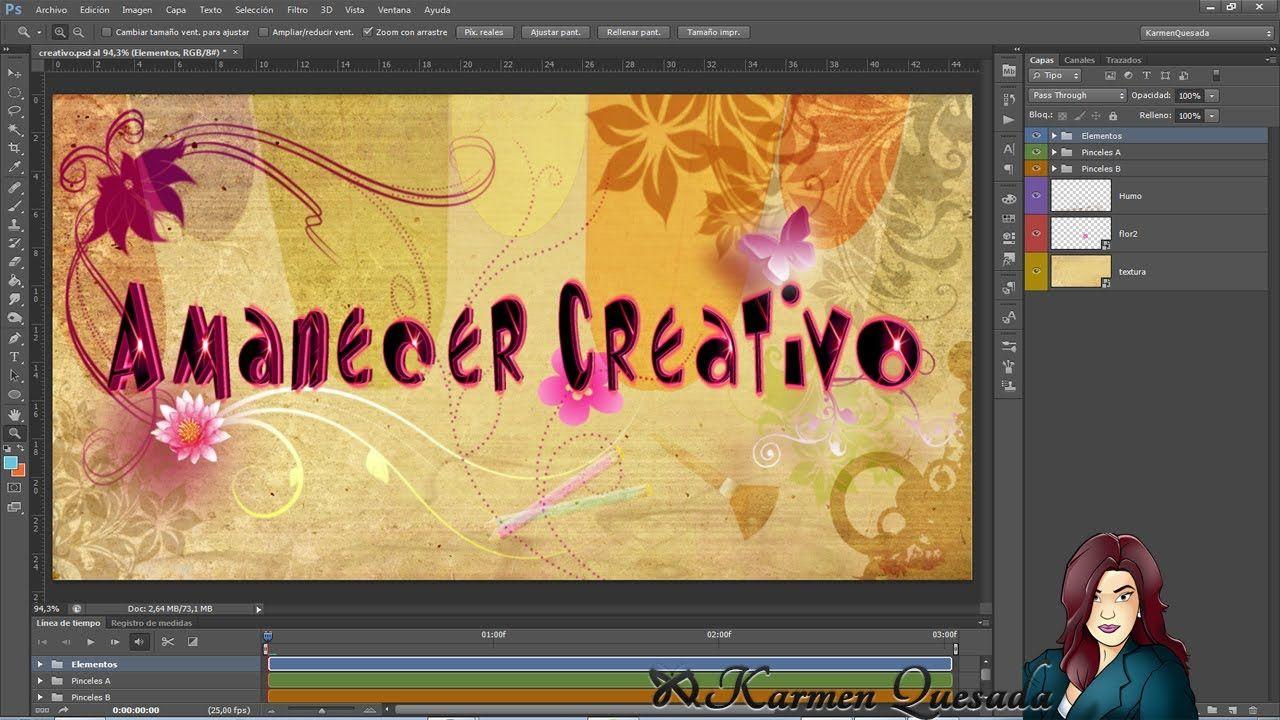Tutorial Photoshop: Banner con texto dinámico part 1