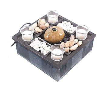 Fuente decorativa de resina y escayola Candele