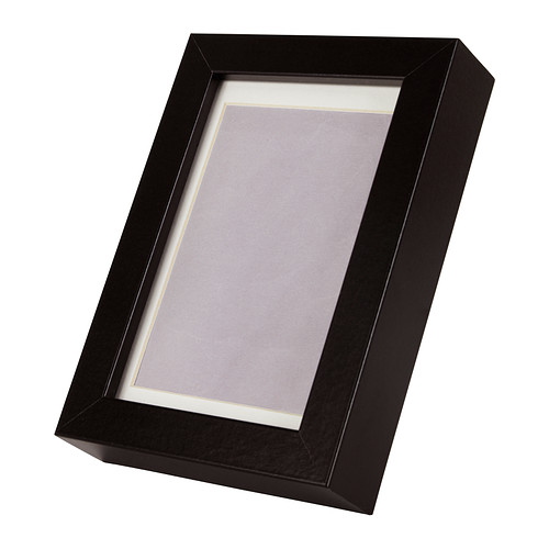 Ikea Ribba Frame Black 10x15 Cm Can Be Used Hanging Or Standing