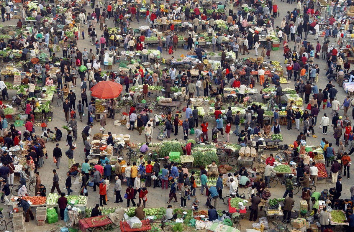 Photos That Show How Insanely Crowded China Has Become - 20 photos that show just how insanely overcrowded china is