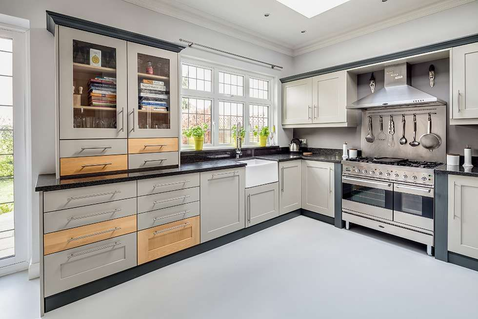 Best Cabinets Painted In Hardwick White By Farrow Ball Bold 400 x 300