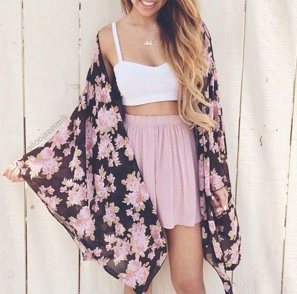 Teen fashion. Tumblr fashion. So cute ❤️❤️perfect summer outfit.