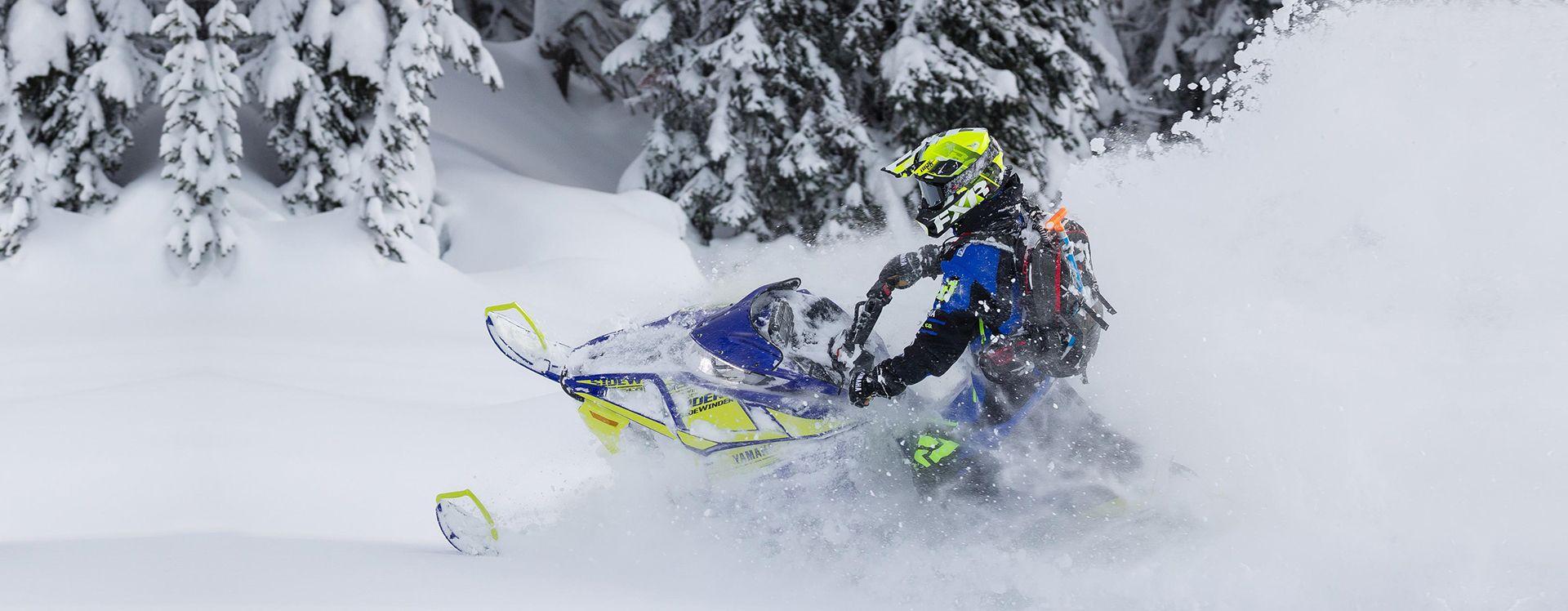 Motoneige Yamaha Snowmobile, Landmarks, Natural landmarks