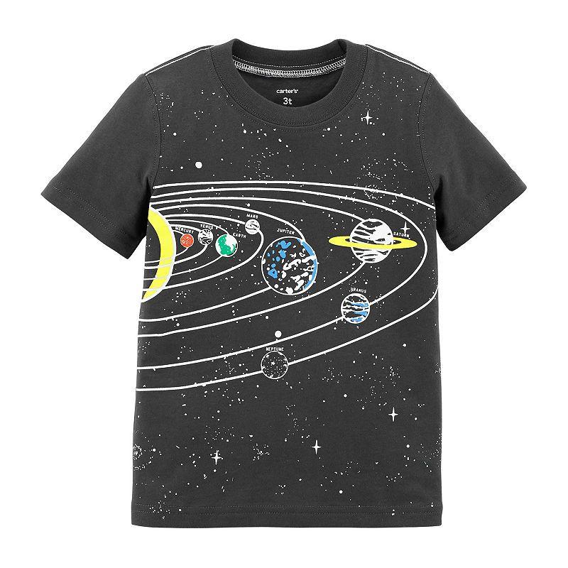 f8c19802c Carter s Boys Round Neck Short Sleeve Graphic T-Shirt-Toddler ...
