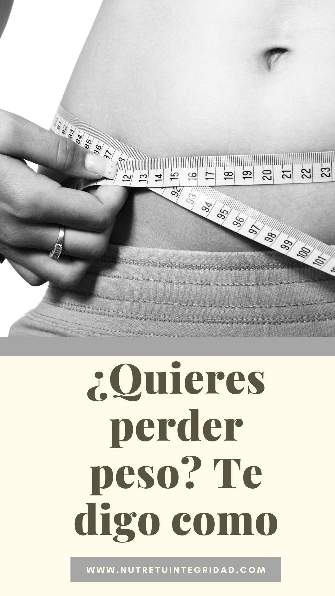 Secretos faciles para bajar de peso