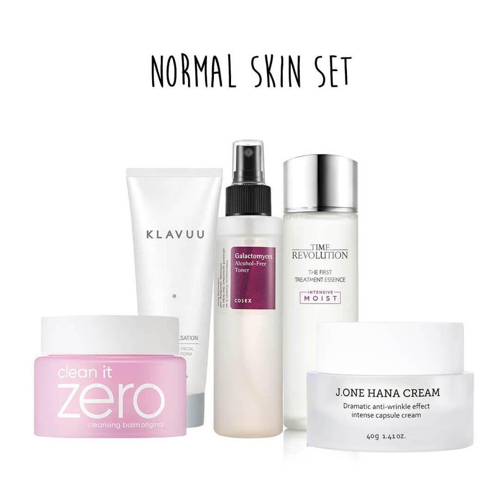 5 Step Normal Skin Set Korean Skincare Skin Care Normal Skin