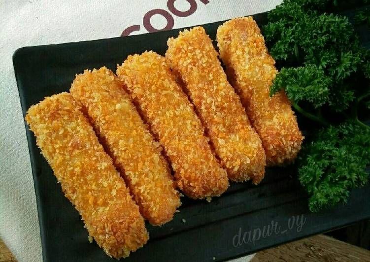 Resep Nugget Mie Stik Mie Ayam Keju Pr Recookindryhapsari Oleh Dapurvy Resep Resep Camilan Resep Masakan