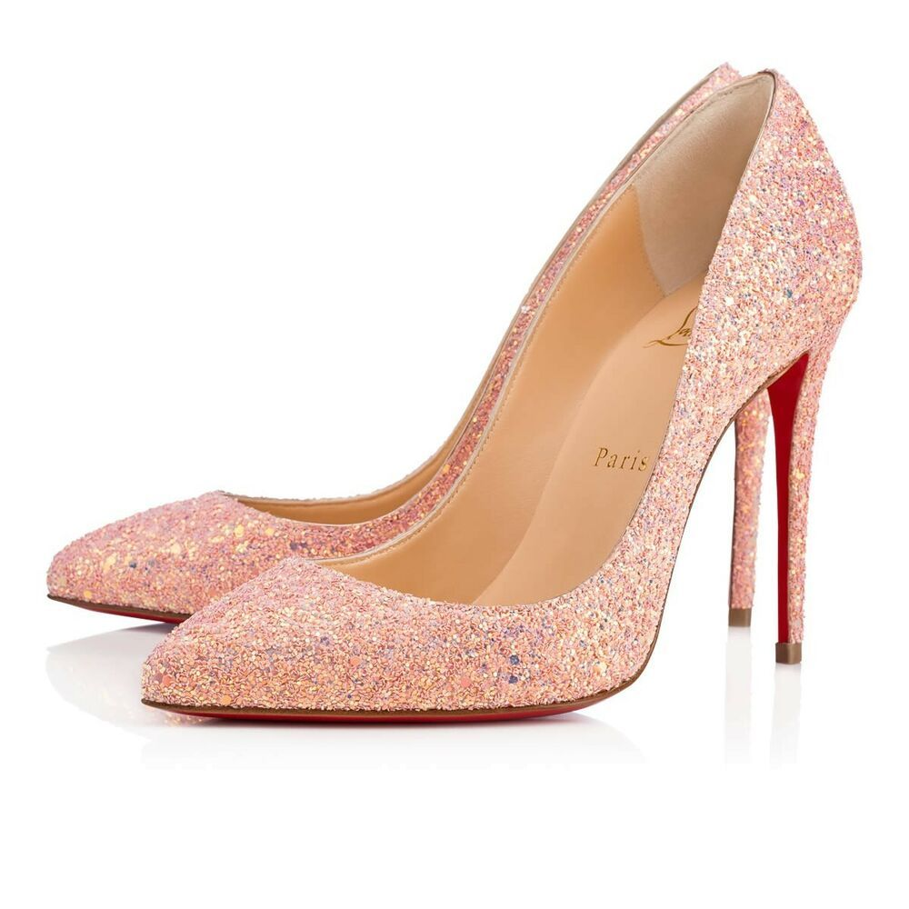 big sale 9a798 0c272 NIB Christian Louboutin Pigalle Follies 100 Pink Dragonfly ...