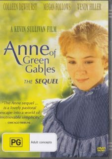 Anne Of Green Gable The Sequel Anne Of Green Gables Anne
