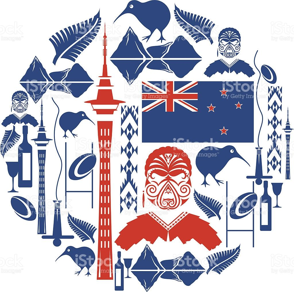 a9954d2e94 A set of New Zealand themed icons. Click below for more travel and ...