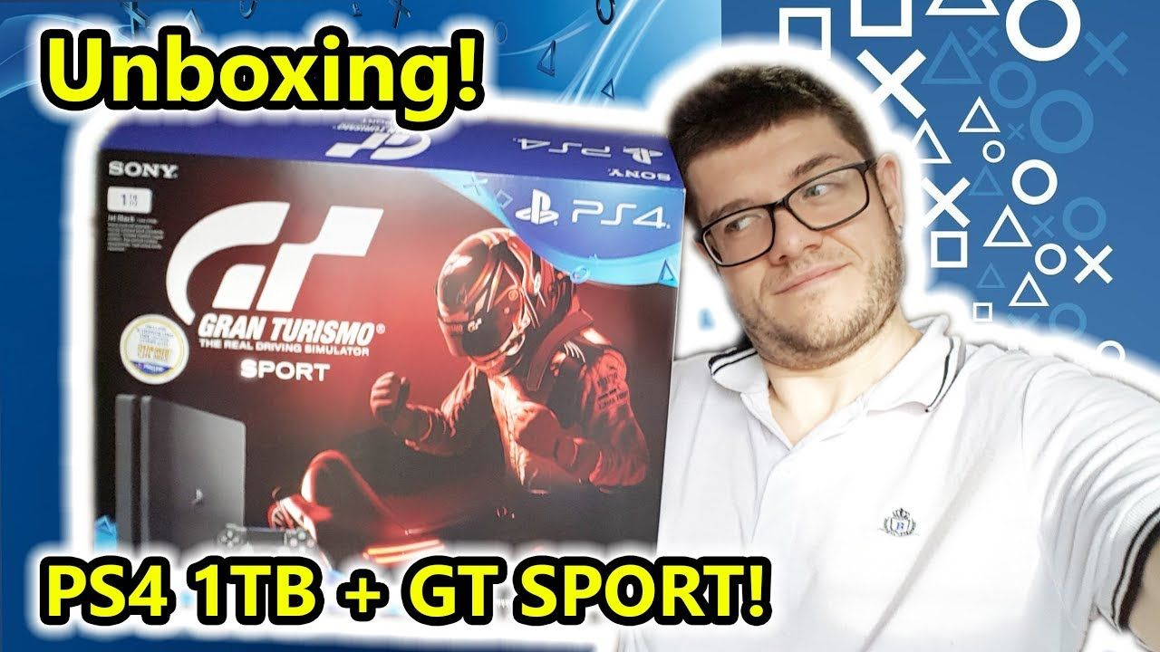 Unboxing PS4 1TB + GT Sport! (Salvo Pimpo's) Ps4