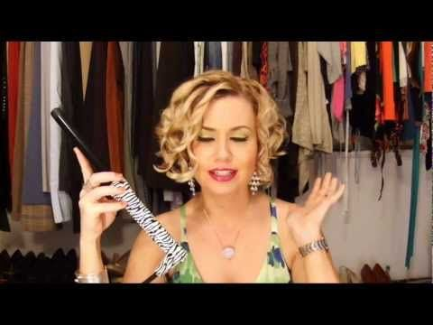 Heating Tools How To Curl Your Hair Messy Waves Curling Wand Eva