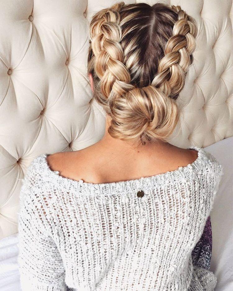 // Oliviasavidge | peinados | Peinados poco cabello, Pelo ...