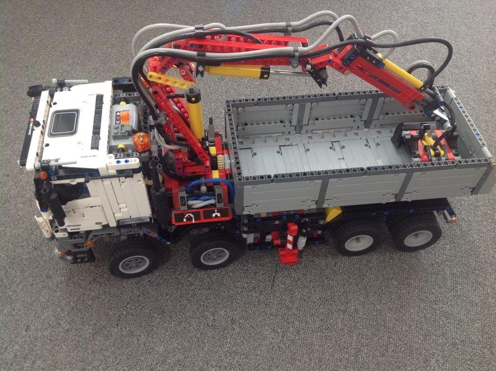 Lego Technic 42043 Mercedes Benz Arocs 3245 100 Complete With