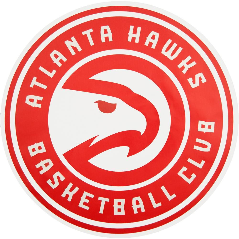 Applied Icon NBA Atlanta Hawks Outdoor Logo Graphic- Large