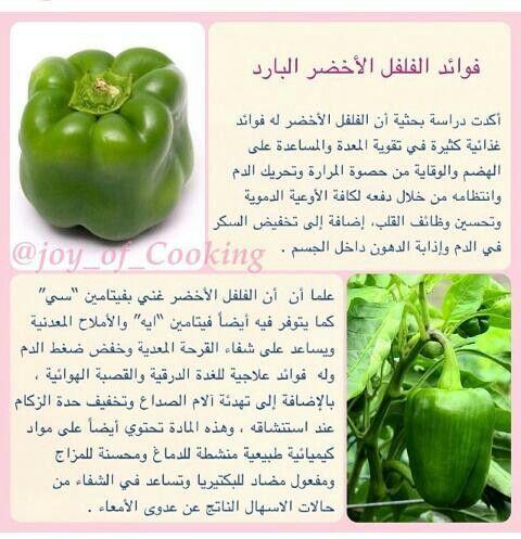 فوائد الفلفل الرومي Digestive Health Vegetable Benefits Health Diet
