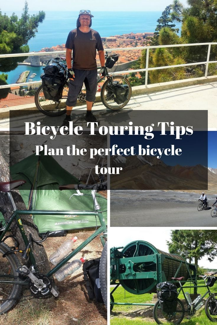 Bicycle Touring Tips Plan The Perfect Long Distance Cycling Tour